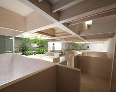 House in Hanekita is a minimalist house located in Okazaki, Japan, designed by Katsutoshi Sasaki + Associates. The architects wanted to utilize the surrounding environment to the advantage of the building's site. (3)