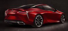 """carsthatnevermadeit: """"Lexus LC 500, 2017MY """""""