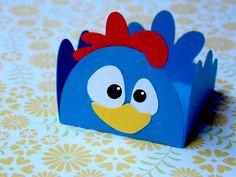 Forminha para doces da galinha pintadinha