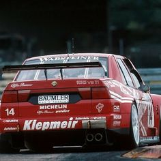 "Giancarlo ""Fisico"" Fisichella, TV Spielfilm Alfa Corse Alfa Romeo 155 V6 TI, Diepholz ITC 1996."