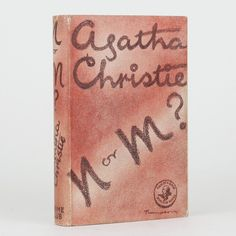 N or M? by CHRISTIE, Agatha - Jonkers Rare Books
