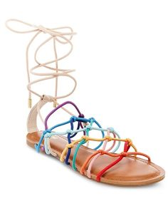 We love this mossimo rainbow gladiator.. its one of our favorite picks from target...