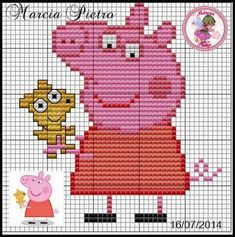 Jumper Knitting Pattern, Knitting Charts, Peppa Pig, Saree Embroidery Design, Baby Sweaters, Yarn Crafts, Knitting Projects, Kids And Parenting, Stitch Patterns
