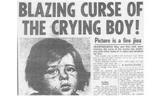 The Crying Boy Paintings - Here's the facts: Italian artist Giovanni Bragolin painted a picture of a crying boy that inexplicably became very popular in the 1950s and had many prints made.