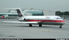 Us Airways, Boeing 727, Vintage Airline, North Beach, Commercial Aircraft, United Airlines, Civil Aviation, Aircraft Pictures, Aeroplanes