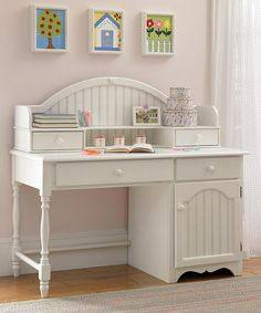 Take a look at this Ivory Westfield Youth Desk & Hutch by Hillsdale Furniture on #zulily today!