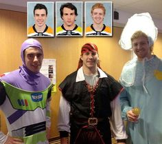Boston Bruins Reilly Smith, Matt Bartkowski and Dougie Hamilton