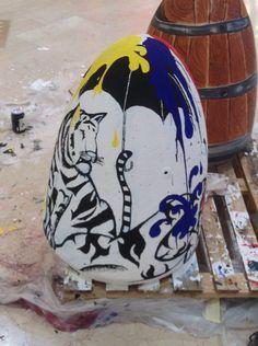 """Panettoni realizzati per la Prima edizione dell'iniziativa """"panettoni ad arte"""" nel centro commerciale """"le isole"""" di Gravellona Toce."""
