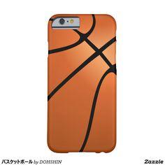 バスケットボール iPhone 6 ベアリーゼアケース