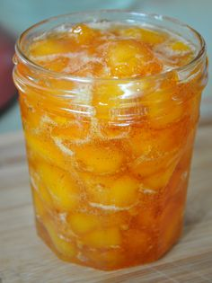 Vanilla Peach Jam (option.peach brandy)
