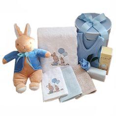 Personalised Bath Towel set Bunny Rabbit Our new personalised baby bath towel hamper with bunny desi Rabbit Baby, Rabbit Toys, Newborn Baby Gifts, Baby Boy Gifts, Boy Bath, Baby Massage, Baby Socks, Towel Set, Personalized Baby