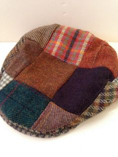 Classic Donnegal Tweed Newsboy Cap by LaDolfina on Etsy, $20.00