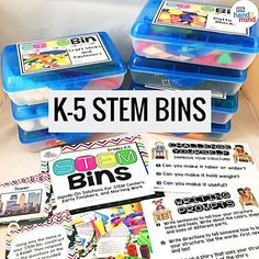These STEM bins make