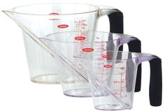 OXO Good Grips 3-Piece Angled Measuring Cup Set $18.95 FREE SHIPPING * RossiGourmet.Com