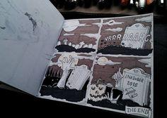 Ylenia Marino - Halloween 2015 - illustration - #inktober #inktober2015 #inktobersonsy #massoneriacreativa - www.massoneriacreativa.com