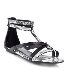 Look what I found on #zulily! Black Fifi Sandal by EXTREME by Eddie Marc #zulilyfinds
