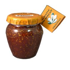 Yummy Adriatic fig spread. Works with cheese, in sauces and alone!