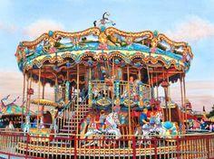 Erie Co Fair Hamburg NY | ... Merry Go Round - Erie Co Fair - Hamburg NY c1998 (Powered by CubeCart