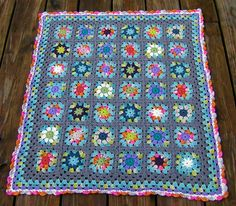 Free Crochet Afghan Patterns Using Variegated Yarn : 1000+ images about Crochet II ~ Afghans, Blankets, Throws ...