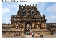 The 2nd Tower of Thanjavur Big Temple..