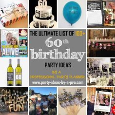 163 Best 60th Birthday Party Ideas Images Ideas60th 70th Parties