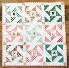 Quilting Land: Snuggle Bunny Quilt