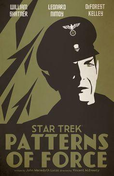 Cool Art: Star Trek TOS 'Patterns Of Force' by Juan Ortiz