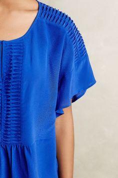 Nila Silk Kimono Blouse - anthropologie.com