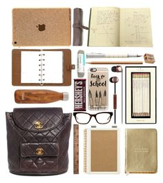 """""""In My Backpack - top home set 8/26/2015"""" by fassionista ❤ liked on Polyvore featuring interior, interiors, interior design, home, home decor, interior decorating, Casetify, Kate Spade, Faber-Castell and Sugar Paper"""
