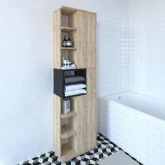 14 Best Colonne salle de bain images | Locker storage, Ikea ...