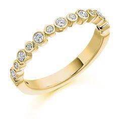 Diamond Weight: Diamond Cut: Round Brilliant Width: Diamond Coverage: Ref No: Wave Jewelry, Jewelry Insurance, Engagement Bands, Wide Rings, Diamond Cuts, Eternity Rings, Wedding Rings, Jewels, Yellow
