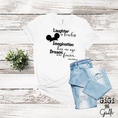 Walt Disney Quote Dreams are Forever - XXXL / Crew / White