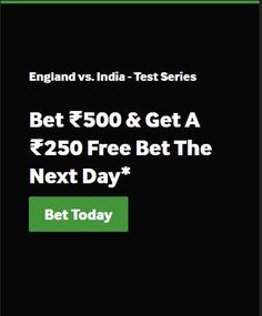 Get your exclusive welcome offer when you join Betway today. Experience pre-game and in-play sports betting markets, the latest casino games and more. Next Day, The Next, Betting Markets, Book Making, England, India, Free, Goa India, English