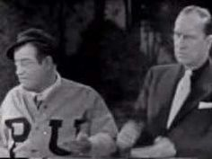 "Abbott and Costello ""Who's On First"" - perfect portrayal of some of the conversations at work. Whos On First, Great Comedies, Comedy Skits, Abbott And Costello, Old Time Radio, Stand Up Comedians, Just For Laughs, Film Movie, I Laughed"