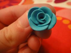 Flowers from clay DIY