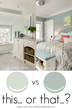 Color Spotlight: Healing Aloe from Benjamin Moore Paint Color Spotlight 2 neutrals to use in high or low light situations for beautiful results<br> Room Colors, Bedroom Paint Colors, Bedroom Colors, Home, Interior, House Painting, Bedroom Paint, Room Paint, Home Decor