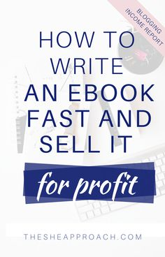 If you ever wondered how to write and publish eBook that you can then sell for profit, you're in the right place - for making these things happen you will need to learn a some facts about it! I will show you all the neccessary steps that you will have to do - from writting an eBook fast to selling it for profit! #digitalproducts #makemoneyblogging #ebooks #makemoneysellingebooks Digital Marketing Strategy, Content Marketing, Affiliate Marketing, Marketing Plan, Business Marketing, Business Planning, Business Tips, Online Business, Make Money Blogging