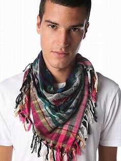 Men's Scarf Winter Style | Fashion Join
