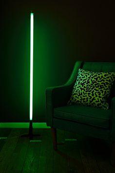 Seletti Fluobar Lamp in Green http://uoeur.pe/uohomewares #Home #UrbanOutfittersEurope