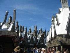 Deciding on a family vacation? Hogsmeade in the Wizarding World of Harry Potter- Orlando, FL