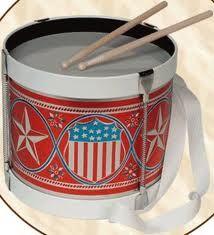 Victorian child's drum