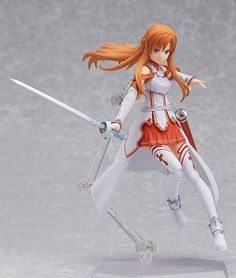 These are so awesomely detailed! SAO collectable figures.