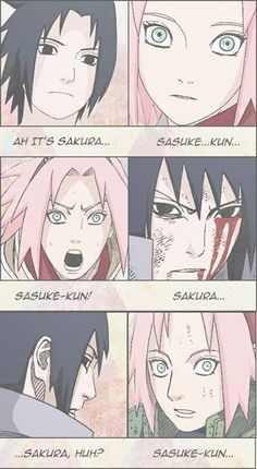 I don't know what people like narusaku( I not against) but even though Sakura says she doesn't like sasuke but she can't hide it