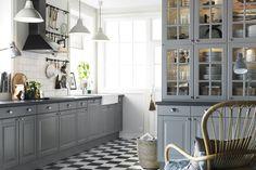 Ikea Lidingo kitchen