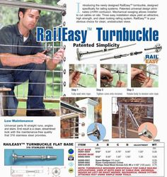 Stainless Steel Cable Railing Hardware - Cable Railing Systems