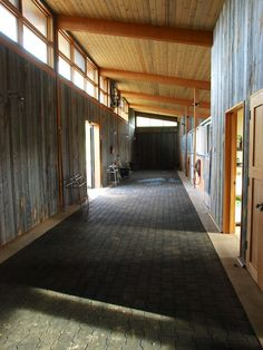 Large Internal Stable With Sky Lights Internal Stables