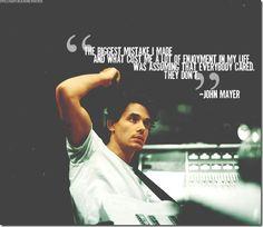 John Mayer Quotes on Pinterest   John Mayer Lyrics, Joyce Meyer ...