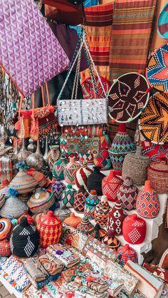 Beautiful markets in Marrakech
