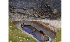 Anglo-Saxon #Cemetery Full of Grave Goods #Discovered Near Prehistoric Henge #Monuments