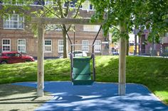 We offer a wide range of playground swings made from naturally durable hardwood. Our swings are suitable for all ages and abilities. Preschool Playground, Playground Swings, Park Playground, Swing Seat, Most Beautiful Pictures, Bespoke, Outdoor Structures, Natural Playgrounds